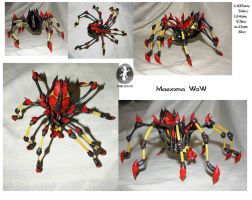 Handmade Maexxna - BOSS GIANT SPIDER WoW by Ynik-name