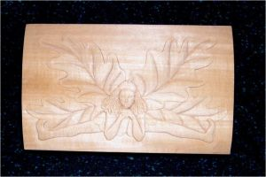 Oak Fairy Box in Progress by TalyrasMirror