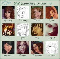 2010 Summery of Art by DarlingMionette