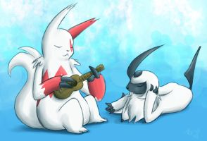 Making Music - Pokeswap by pettyartist