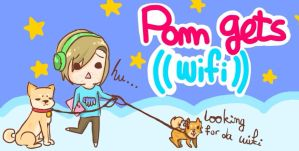 Pewds play Pom Gets Wifi by MamaPaws