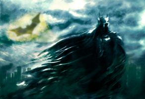 Batman by tyrano666