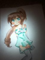 pretty girl water colored by jiamonte1200