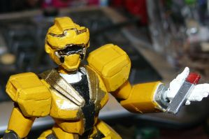 GOKAI CHANGE! Gundam Yellow! (current) by nikinaga