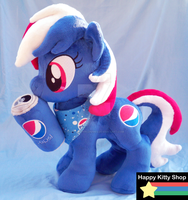 Pepsi Pony Plush by QueenBeePlush