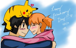 Happy Pokeshipping Day 2013!!! by Shaman-Hearts