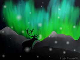 Northern Lights by TripleThreat682