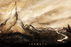 ANTHRUM landscape concept by Ti-R