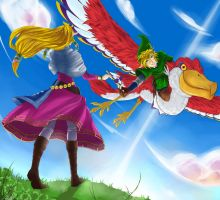LoZ: Skyward Sword by Lotusfire7