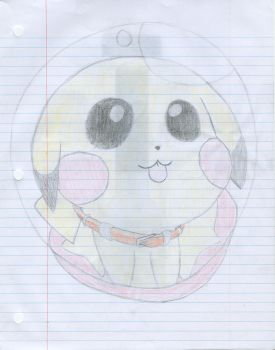 Pikachu in a Pokeball by 210teenlibrary