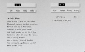 Switches - Notes + RSS by Rasylver