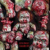 Rot Tot Dwight Baby Zombie by Undead-Art