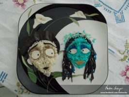 Tim Burton's Corpse Bride by NadienSka