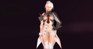 Vindictus -Suit - White Shark by vcah1990