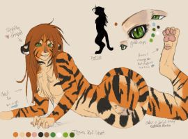 Tigress Reference Sheet by konekonoarashi