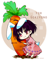 Tewi for Gokiyono by color-sekai
