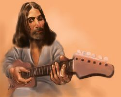 While My Guitar Gently Weeps by foolsofusall