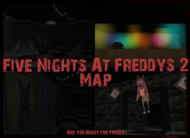 FNAF 2 Map - Are you ready for freddy? *UPDATE 3* by Zophrenia