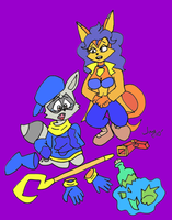Not So Sly Now Colored by JayManney4Life