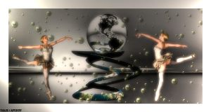 DANCING FOR THE WORLD II by Tigles1Artistry