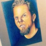 James Hetfields GRRR Face by acdcfan1234