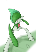 Gallade by Zaemii