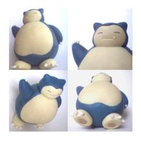 Snorlax: big pokemon by unicornstrike