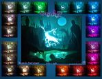 Expecto Patronum Light Box - Colors by GreenYosh