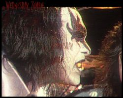 Gene Simmons by WednesdayZombie