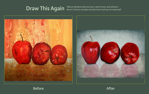 draw this again - apples by AndreaMeyerPainting