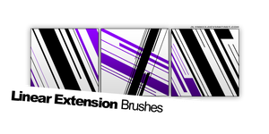 Linear Extension Brushes. by jlynnxx