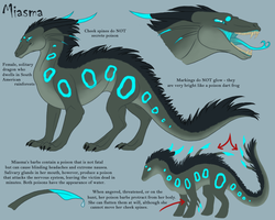 Miasma Ref '12 OLD by KazultheDragon