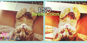 Sweet Colors PSD by ForeverYoung320