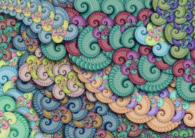 Color Fractal by savajam
