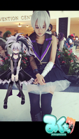 Vflower with one of her biggest fans cx by JrockSymphonia