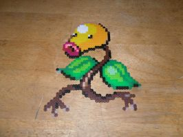 Bellsprout Beadsprite by dylrocks95