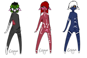Incubi Adoptables 10 pts. ea. by Perocore