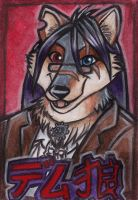 Demetrius Wolf J-Badge by shiverz