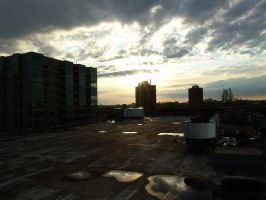 Up on the Roof. by Pyro82