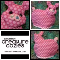 Pig - Teapot Cosy by AngelSamui