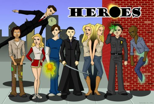 Heroes by bechedor79