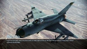 Ace Combat Infinity MiG-21 Bis Loading Screen. by LooneyAces
