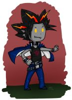 Yami Yugi as a troll by roseannepage