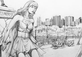 Super Girl 02 by leandro-sf