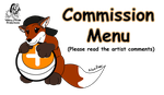 New Commission Menu by Aileen-Rose