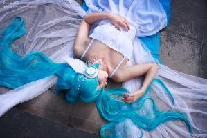Hatsune Miku. Sleeping Song by gorlitsa