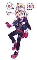[ $ ] Gladion by HotPinkZippy