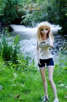 August Meet-up: Seityan by the stream. by Migon21