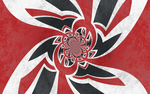 Grunge UK Flag - Psychedelic by TheDrifterWithin