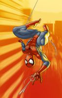 Spider-Man Colored by thejagman22